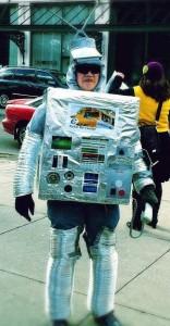 Robocall protestor